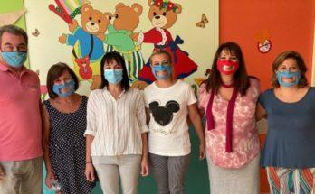 Πεντέλη: Ειδικές μάσκες με διαφωνία στο στόμα προμηθεύτηκε ο Δήμος για τους παιδικούς σταθμούς