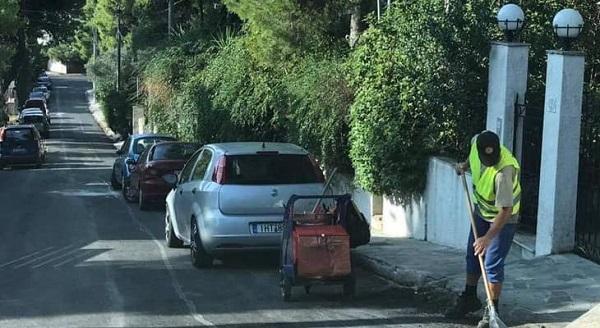 Πεντέλη: Συνεχίζεται η προσπάθεια σε όλα τα επίπεδα για μια καθαρή και τακτοποιημένη πόλη