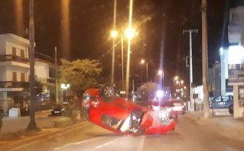 Πεντέλη : Στην Λεωφόρο Δημοκρατίας στη Δ.Κ Μελισσιων έγινε τροχαίο ατύχημα με αυτοκίνητο που ντεραπάρισε