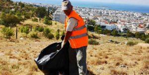 ΣΠΑΥ : Σήμερα τέθηκε σε εφαρμογή από τον σύνδεσμο ένα νέο μεγάλο σχέδιο καθαρισμού και φροντίδας του Υμηττού