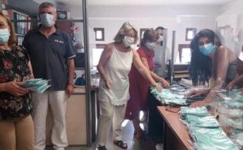 Χαλάνδρι: Ολοκληρώθηκε έγκαιρα χθες η διανομή μασκών σε όλα τα σχολεία της πόλης