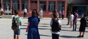 Χαλάνδρι: Στον αγιασμό του 2ου Γυμνασίου και 2ου Λυκείου βρέθηκε ο Δήμαρχος