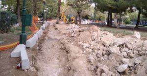 Αθήνα: Συνεχίζεται η ανάπλαση του πάρκου Φιξ