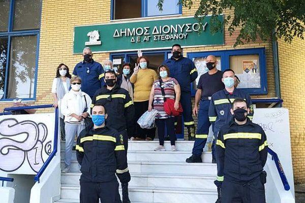 Διόνυσος :Εθελοντική αιμοδοσία στην Δημοτική Κοινότητα του Αγίου Στεφάνου