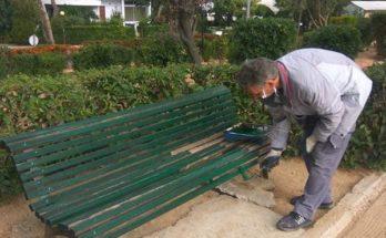 Κηφισιά: Επισκευές στο Πάρκο Ηρώων Πολυτεχνείου στη Ν. Κηφισιά