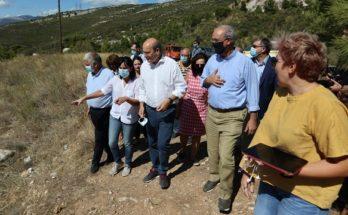 Κηφισιά: Ο Υπουργός Περιβάλλοντος και Ενέργειας Κωστής Χατζηδάκης επισκέφθηκε το Πεντελικό όρος