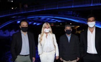Ελλάδα: Το Δίκτυο SDG 17 Greece και η ΚΕΔΕ διέδωσαν τα οικουμενικά ιδεώδη του ΟΗΕ στις ελληνικές πόλεις με αγγελιαφόρο τη συμβολική φωταγώγηση της Γέφυρας των Τρικάλων
