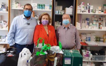 Μαρούσι :Αντιπροσωπεία της Τοπικής Οργάνωσης Ν.Δ. Αμαρουσίου πρόσφερε φάρμακα και υγειονομικό υλικό στο Κοινωνικό Φαρμακείο