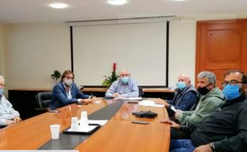 Μαρούσι: Συνάντηση του Δημάρχου Αμαρουσίου Θ. Αμπατζόγλου με τον Αθλητικό Όμιλο Παραδείσου Αμαρουσίου