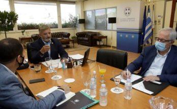 Συνάντηση με τον Περιφερειάρχη Αττικής είχε ο Δήμαρχος Αμαρουσίου Θ. Αμπατζόγλου και οι Δήμαρχοι Ηρακλείου ,Λυκόβρυσης-Πεύκης, Κηφισιάς