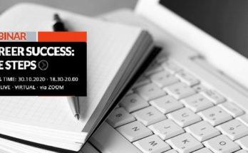 Διαδικτυακό σεμινάριο με θέμα: «Επιτυχημένη Καριέρα: