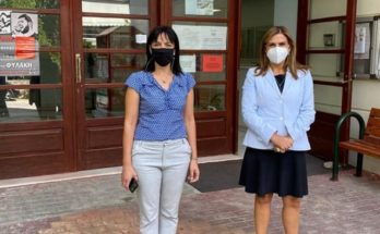 Πεντέλη: Η Υφυπουργός Υγείας Ζωή Ράπτη στο Δήμο Πεντέλης
