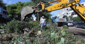 Περιφέρεια Αττικής: Αυτοψία του Περιφερειάρχη στις μεγάλες ζημιές που προκάλεσε η σφοδρή κακοκαιρία στο Ν. Ηράκλειο