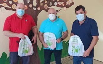 Λυκόβρυση Πεύκη: Μοιραστήκαν τα καθιερωμένα δώρα από το Δήμο για τα παιδιά της Α' δημοτικού