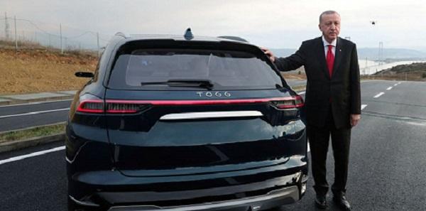 TOGG το πρώτο ηλεκτρικό αυτοκίνητο που κατασκευάζεται εξ ολοκλήρου στην Τουρκία