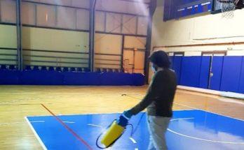 Χαλάνδρι: Ολοκληρώθηκε σήμερα η απολύμανση στο κλειστό γήπεδο μπάσκετ στο «Ν. Πέρκιζας»