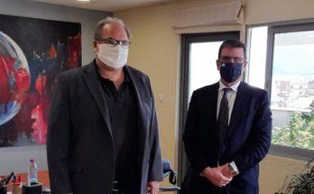 Χαλάνδρι: Συνάντηση του Δημάρχου Σίμου Ρούσσου με το βουλευτή Δημήτρη Καιρίδη