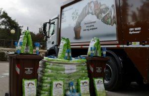 Νέα Φιλαδέλφεια Νέα Χαλκηδόνα: Ένα υπερσύγχρονο απορριμματοφόρο και ογδόντα καφέ κάδους ανακύκλωσης παρέδωσε στο Δήμο η Περιφέρεια