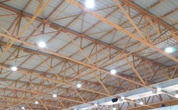 Βριλήσσια: Αντικατάσταση φωτισμού με λαμπτήρες LED στο κλειστό γήπεδο