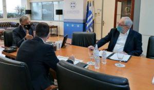 Μαρούσι: Συνάντηση του Δήμαρχου Αμαρουσίου με τον Περιφερειάρχη Αττικής