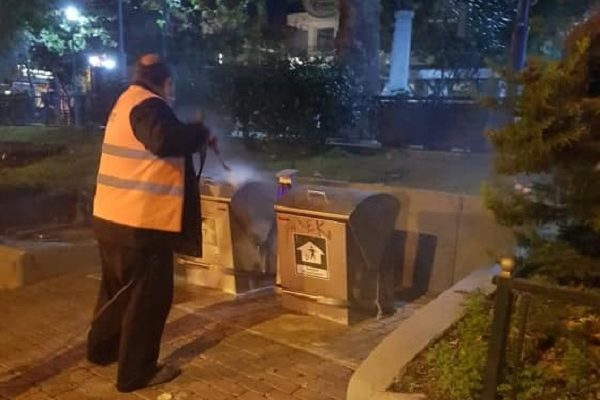 Μαρούσι: Συνεχίζονται οι καθαρισμοί και οι απολυμάνσεις με αμείωτους ρυθμούς