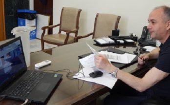 Μεταμόρφωση: Συνεδρίασε σήμερα η αρμόδια επιτροπή του Δήμου για την πανδημία μέσω τηλεδιάσκεψης