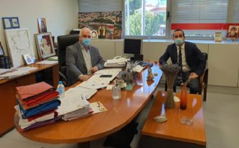 Παλλήνη: Με τον Πρόεδρο της ΠΕΔΑ συναντήθηκε ο Δήμαρχος Παλλήνης