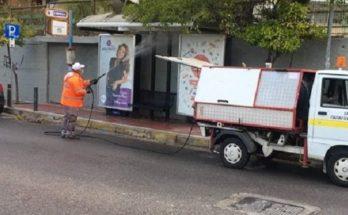 Παπάγου Χολαργός: Η υπηρεσία καθαριότητας του Δήμου καθημερινά στην πρώτη γραμμή