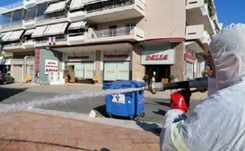Πεντέλη: Απολυμάνθηκαν τα κεντρικά σημεία μετά από συντονισμένη προσπάθεια του Δήμου