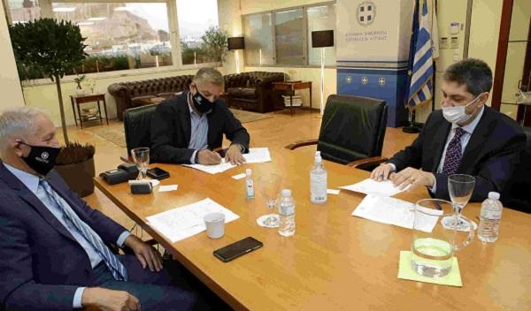 Περιφέρεια Αττικής : Σύμφωνο Συνεργασίας με το Ελληνικό Κέντρο Θαλασσίων Ερευνών με στόχο κοινές δράσεις για την προστασία του θαλάσσιου οικοσυστήματος στην Αν. Αττική