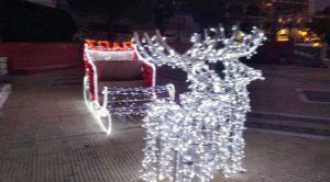 Σ.Π.Α.Π : Στόλισε το χριστουγεννιάτικο έλκηθρο του συνδέσμου στην πλατεία της Νέας Πεντέλης