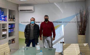 ΠΕΔΑ: Το Δήμαρχο Βριλησσίων επισκέφθηκε ο Πρόεδρος της Περιφερειακή Ένωση Δήμων Αττικής