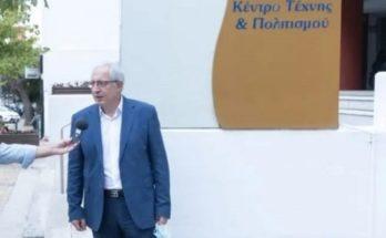 Μαρούσι : Ζωντανά στο maroussi.gr απόψε στις 19.00 τη φωταγώγηση του Κέντρου Τέχνης και Πολιτισμού του Δήμου και της Πινακοθήκης