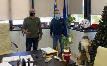 ΠΕΔΑ : Τον Δήμαρχο Νέου Ηρακλείου επισκέφθηκε ο Πρόεδρος της Περιφερειακή Ένωση Δήμων Αττικής