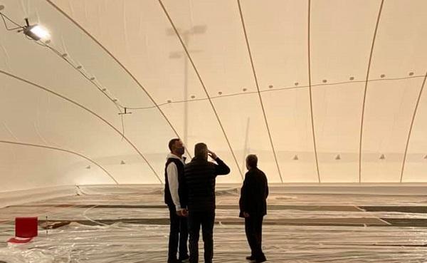 Παπάγου Χολαργός: Τοποθέτηση λυόμενου στεγάστρου στα 2 ανοιχτά γήπεδα μπάσκετ του αθλητικού κέντρου της οδού Σύρου στον Χολαργό