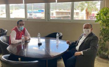 ΠΕΔΑ: Τον Δήμαρχο Μαραθώνα κ. Στέργιο Τσίρκα συνάντησε στο Δημαρχείο της πόλης ο Πρόεδρος της Π.Ε.Δ.Α