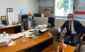 ΠΕΔΑ : Τον Δήμαρχο Παλλήνης επισκέφθηκε ο Πρόεδρος της Περιφερειακή Ένωση Δήμων Αττικής