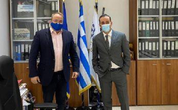 ΠΕΔΑ : Τον Δήμαρχο Βάρης - Βούλας - Βουλιαγμένης επισκέφθηκε ο Πρόεδρος της Περιφερειακή Ένωση Δήμων Αττικής