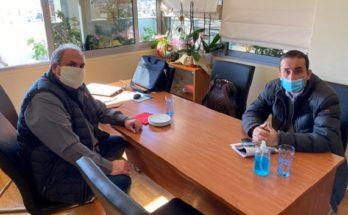 ΠΕΔΑ :Το Δήμαρχο Χαλανδρίου επισκέφθηκε ο Πρόεδρος της Περιφερειακή Ένωση Δήμων Αττικής