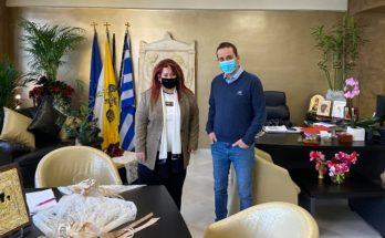ΠΕΔΑ : Τον Δήμαρχο Νέας Ιωνίας επισκέφθηκε ο Πρόεδρος της Περιφερειακής Ένωσης Δήμων Αττικής