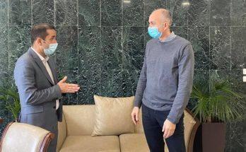 ΠΕΔΑ : Τον Δήμαρχο Μεταμόρφωσης επισκέφθηκε ο Πρόεδρος της Περιφερειακής Ένωσης Δήμων Αττικής
