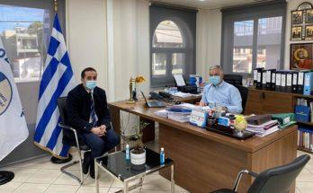 ΠΕΔΑ : Τον Δήμαρχο Παιανίας επισκέφθηκε ο Πρόεδρος της Περιφερειακής Ένωσης Δήμων Αττικής