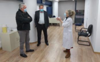 Αγία Παρασκευή: Τη Μονάδα Υγείας ΠΕΔΥ επισκέφτηκε ο Δήμαρχος