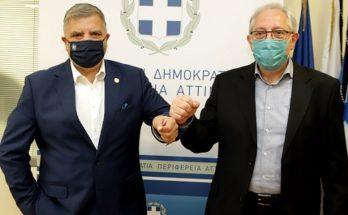 Περιφέρεια Αττικής: Συνάντηση του Δημάρχου Αμαρουσίου με τον Περιφερειάρχη για την χρηματοδότηση των έργων ενεργειακής αναβάθμισης σε δημοτικά κτίρια
