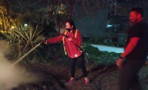Σπάτα Αρτέμιδα : Καθάριζε το οικόπεδο του και έβαλε φωτιά για να κάψει τα χόρτα
