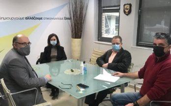 Περιφέρεια Αττικής: Συνάντηση εργασίας του Δήμαρχου με την αντιπεριφερειάρχη Βορείου Τομέα