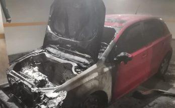 Βριλήσσια: Φωτιά σε αυτοκίνητο σε υπόγειο Γκαράζ