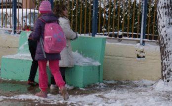 Διόνυσος: Δεν θα λειτουργήσουν τη Δευτέρα 18/1 Δημοτικά Σχολεία, Νηπιαγωγεία και Βρεφονηπιακοί Σταθμοί λόγω πιθανού παγετού
