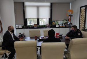 Ηράκλειο Αττικής: Την εντατικοποίηση των ελέγχων για την αποτροπή του συνωστισμού στους δημόσιους χώρους ζήτησε ο Δήμαρχος από τον διοικητή του τοπικού Αστυνομικού Τμήματος