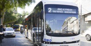Ελλάδα: Δοκιμαστική διαδρομή με ηλεκτροκίνητο λεωφορείο πραγματοποίησε ο Υπουργός Υποδομών και Μεταφορών